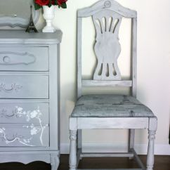 Grey Painted Chairs Fishing Chair Korum French Makeover In Paris Girl The Garage