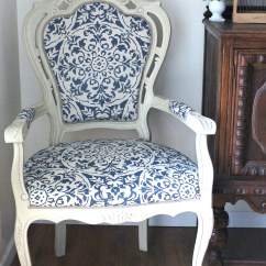 Reupholstering A Chair Rattan Wingback Chairs The Throne Diy Reupholstered Makeover And Being With Chalk Paint Clearance Curtain As Fabric Girl In