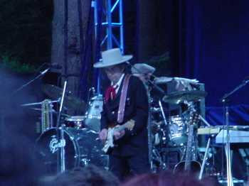 Bob Dylan plays The Pine Theater