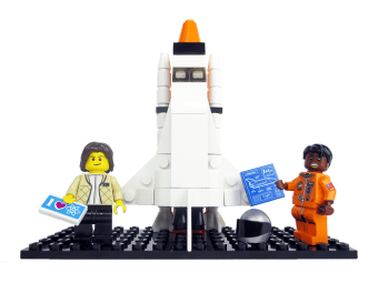 Lego set for women of NASA