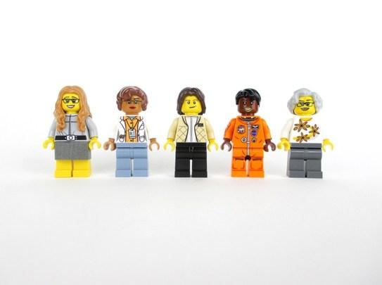 Women NASA Lego set