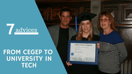 cegep university tech