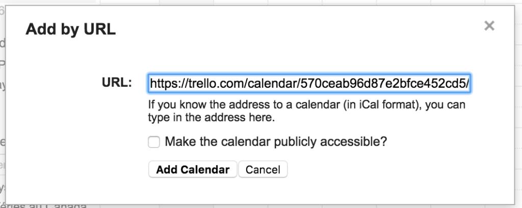 Add Trello to Google Calendar (Trello google calendar ical)