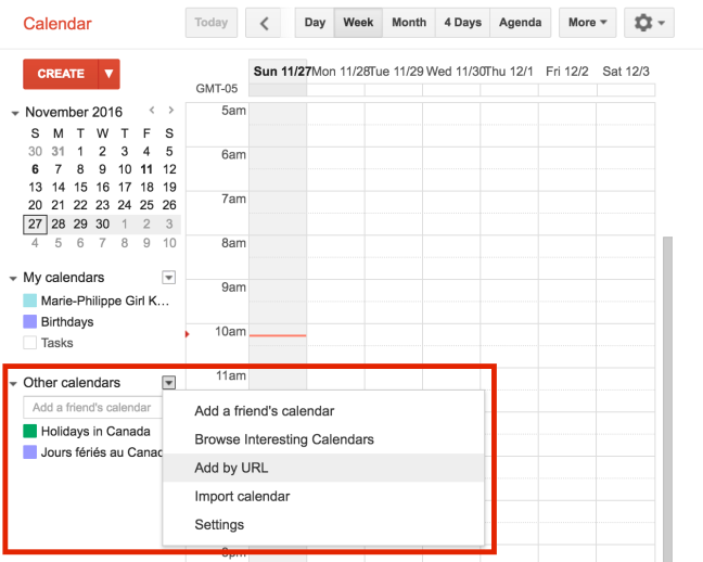 Add Trello to Google Agenda
