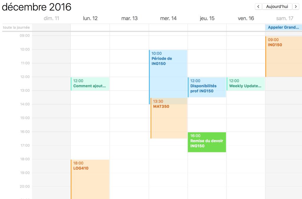 Trello sur iCal (Trello google calendar ical)
