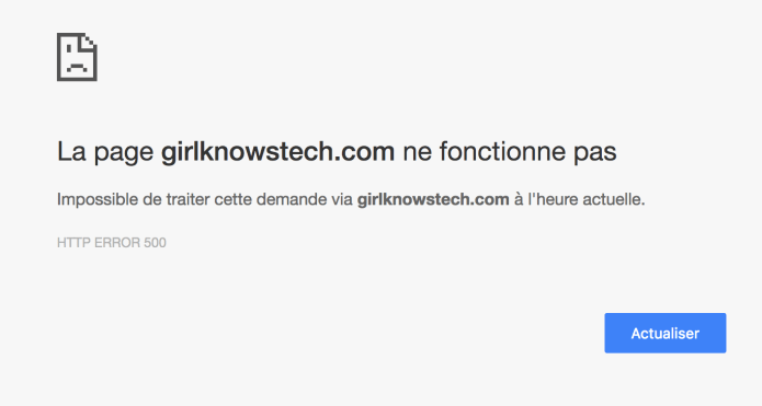 girlknowstech down