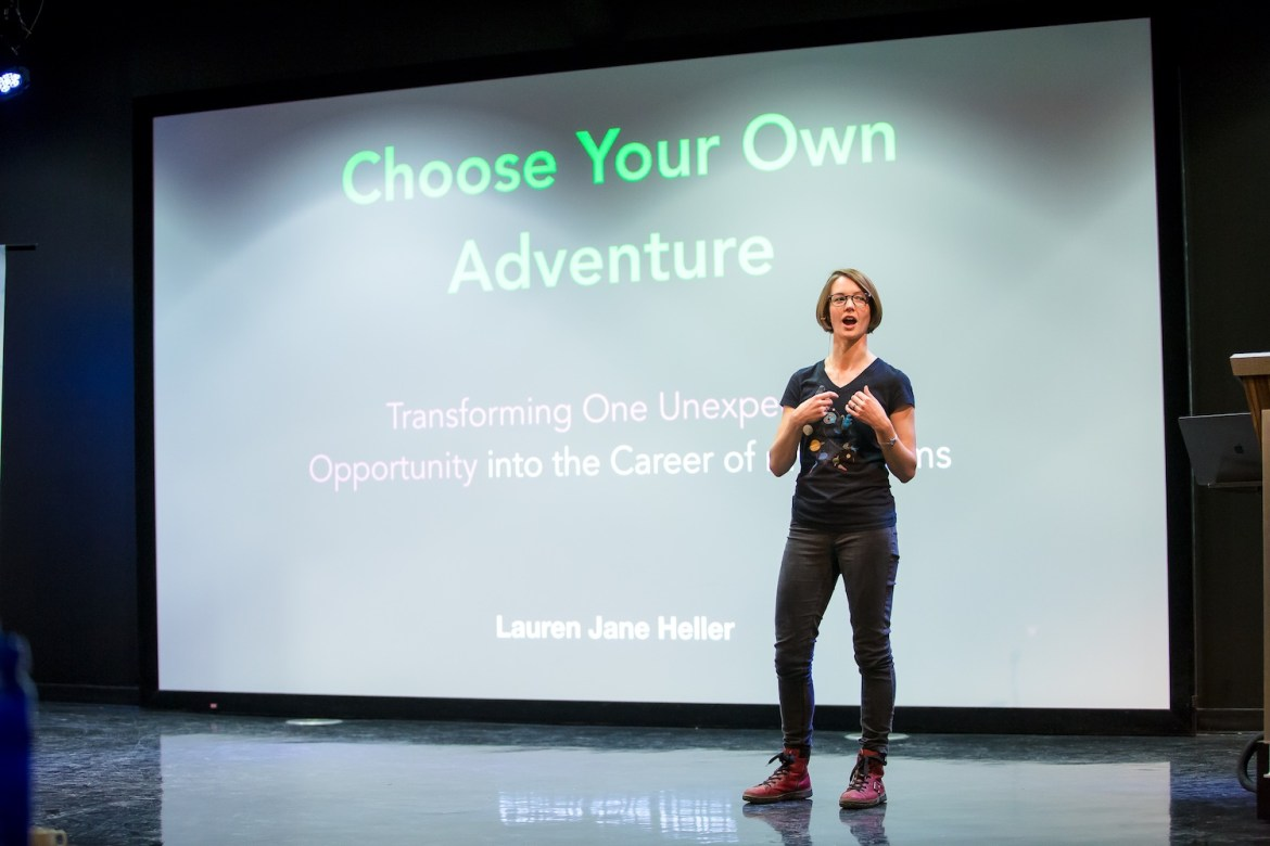 Women Techmakers Montreal 2018 - Choose Your Own Adventure conference