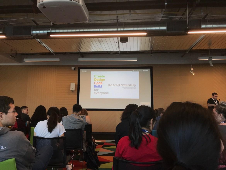 Art du réseautage - Google Student Retreat - Google Women Techmakers