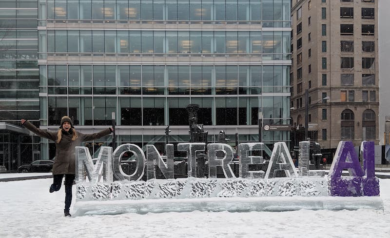 Montreal AI in ice - NeurIPS 2018
