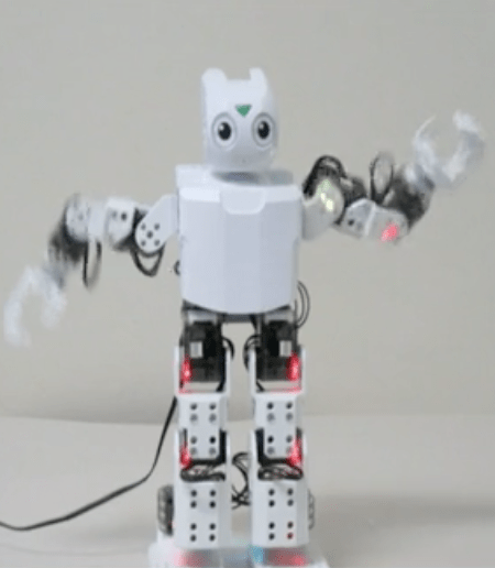White Robot at NeurIPS 2018