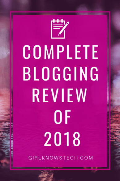 Sharing my 2018 Year In Review with my blog. Learn more about how many visitors my blog got and what were the most popular blog posts! #blogging