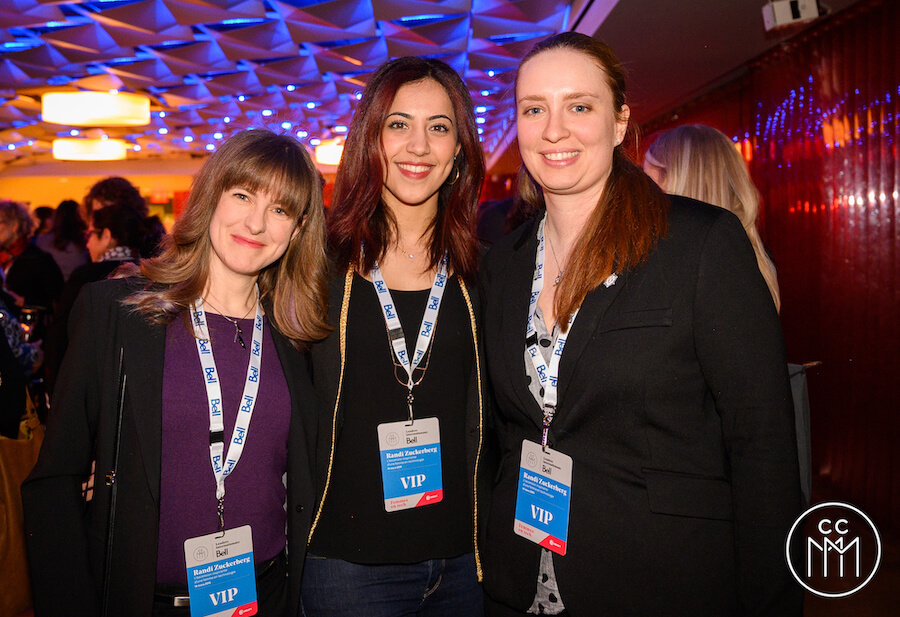 Les trois ambassadrices Ubisoft : Amira Boutenchent, Julie Tousignant et Catherine Proulx