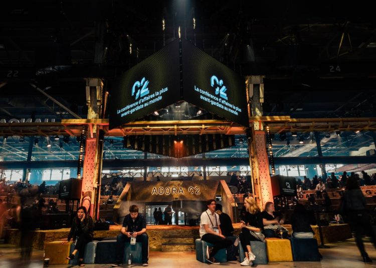 The main stage at C2 Montreal