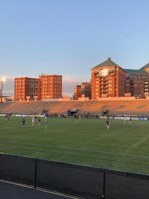 Homewood Field at JHU where the Blue Jays play Lacrosse