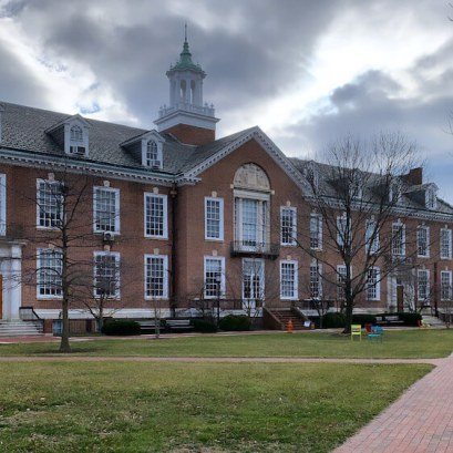 A Building in Wyman Squad at Johns Hopkins University