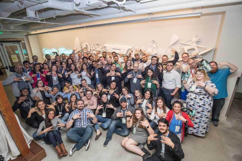 Participants at Google North America Leads Academy 2020