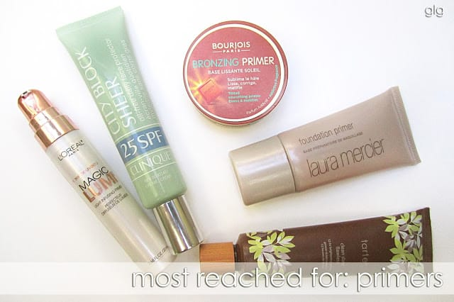 MOST REACHED FOR: FOUNDATION PRIMERS