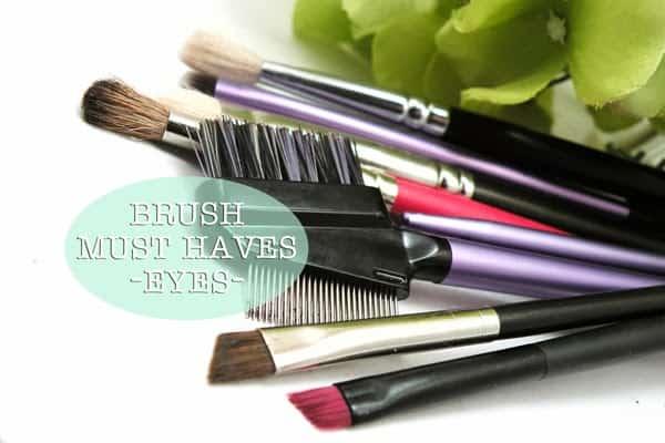 BRUSH BREAKDOWN | Eye Essentials