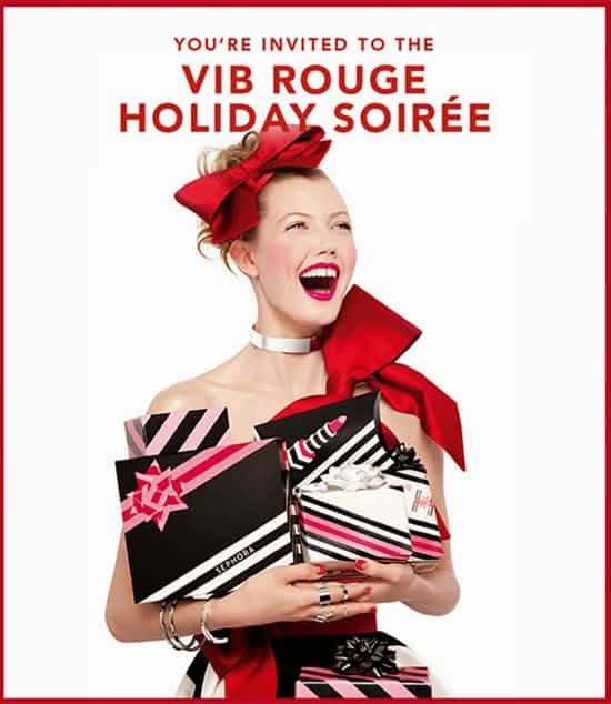 20% OFF   Sephora VIBRouge and VIB Holiday Sale Event