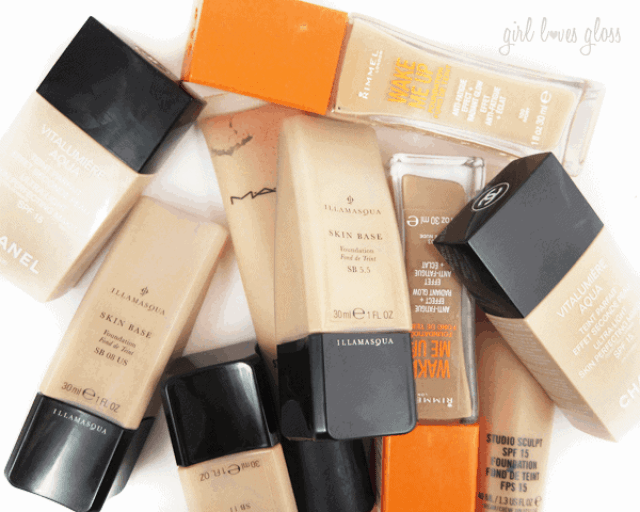 5 tips for flawless foundation on girllovesgloss.com mac dior estee lauder illamasqua