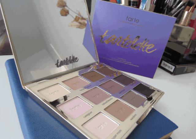 Girl Loves Gloss Makeup and Beauty Blog Tarte Tartelette Palette Matte Eyeshadow