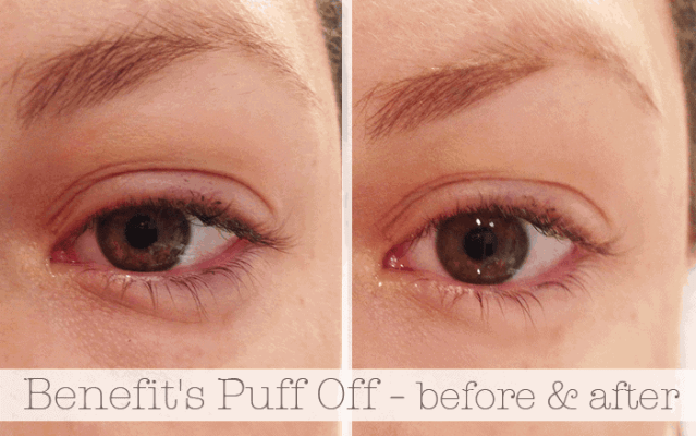 Benefit Puff Off before and after pictures girllovesgloss.com