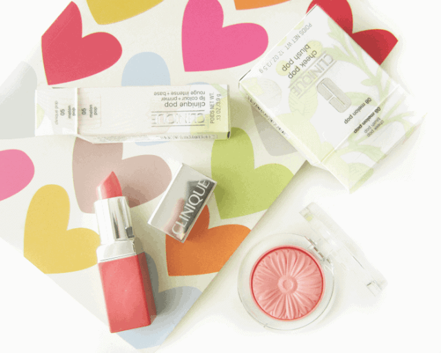 Clinique Melon Pop Cheek pop blush, Lip Colour + Primer Melon Pop
