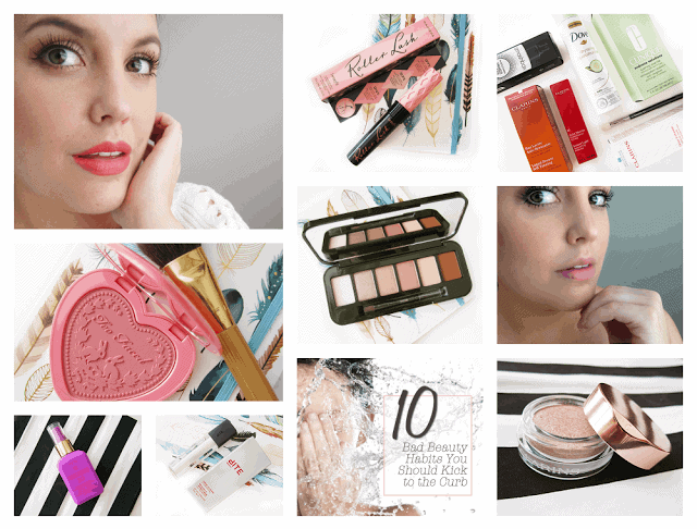 Weekend Round Up: beauty favourites, new products, bad beauty habits, too faced love flush blush, bite beauty opal gloss, benefit roller lash