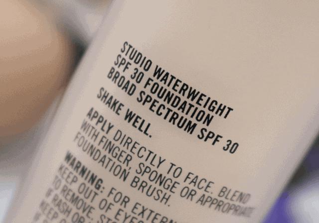 MAC Studio Waterweight Foundation Review