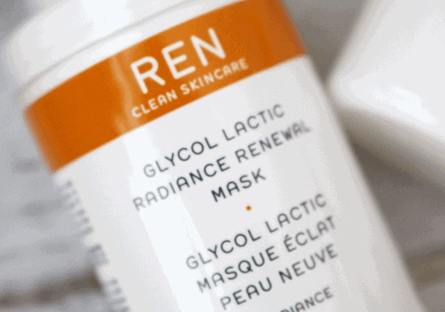 REN Clean Skincare Glycol Lactic Radiance Renewal Mask Review