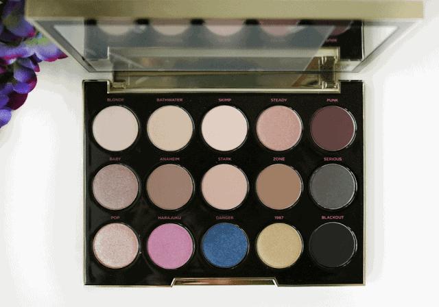 Urban Decay Gwen Stefani Eyeshadow Palette Review