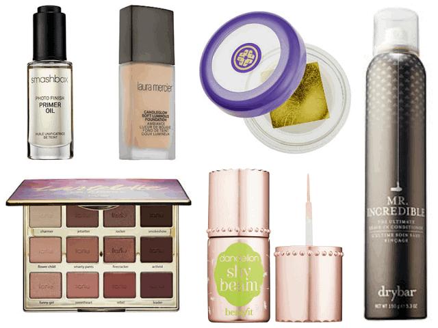 New Beauty for 2016 - laura mercier, smashbox, tarte, tatcha, benefit, drybar