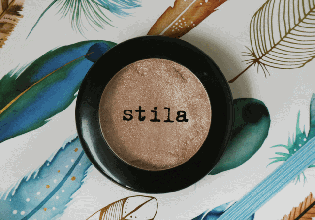 Stila Kitten Eyeshadow Swatch and Review