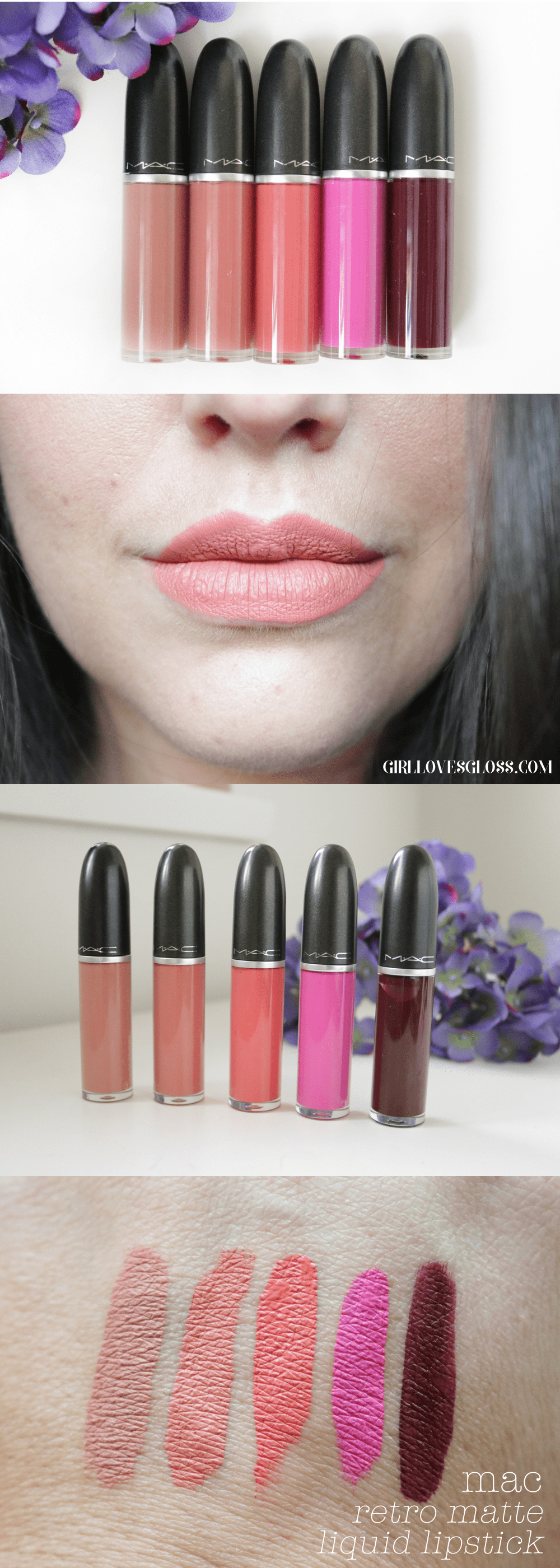 MAC Retro Matte Liquid Lipstick Review and Swatches