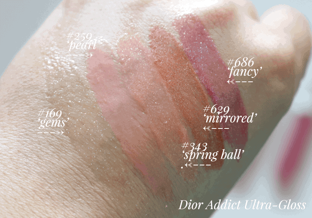 Dior Addict Ultra-Gloss Review and Swatches