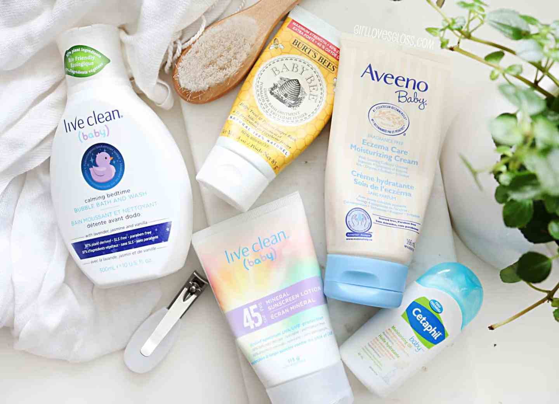 Baby Beauty Products for cradle cap, eczema, diaper rash