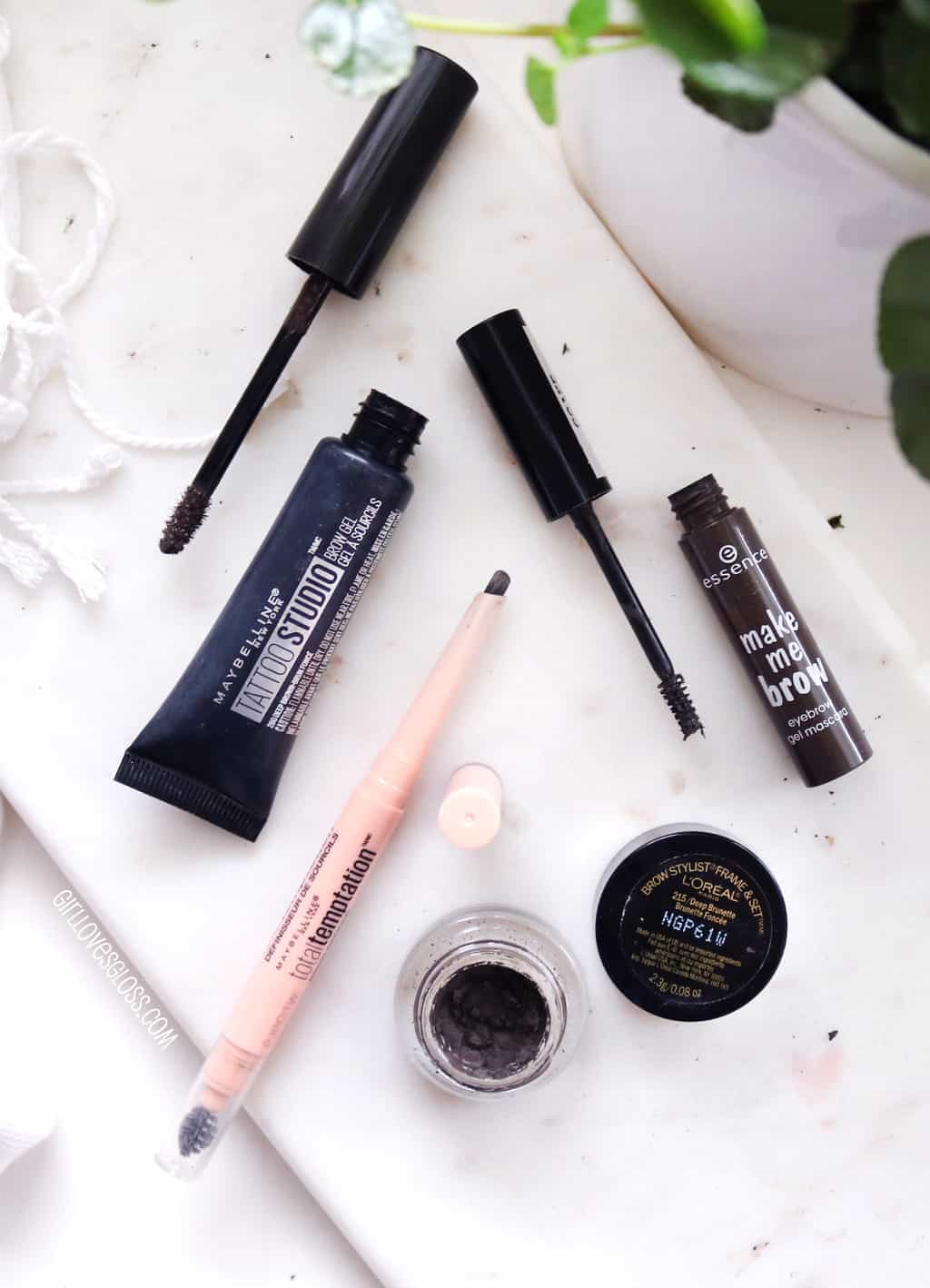 Great Brows With Drugstore Products