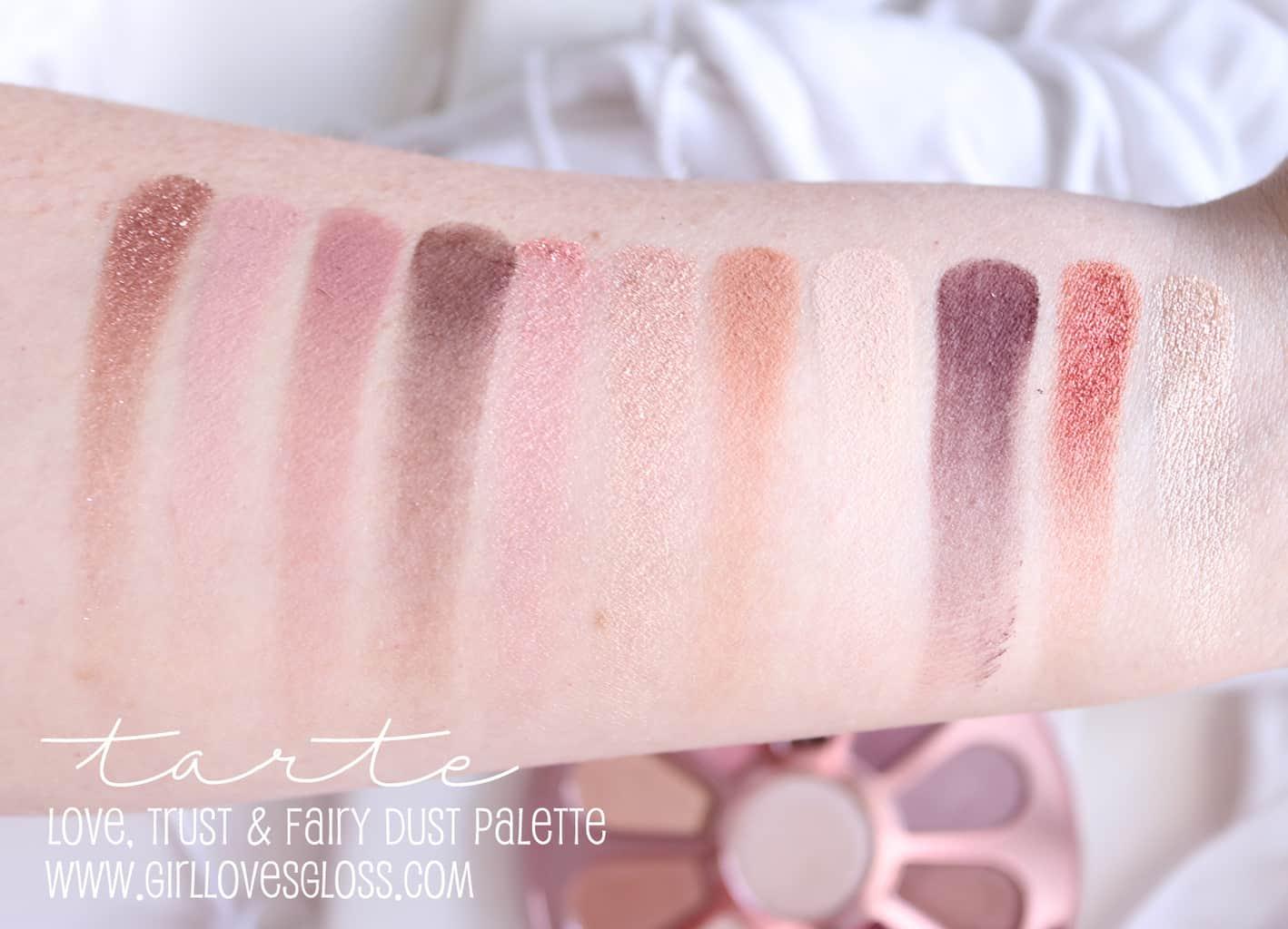 Tarte Love Trust and Fairy Dust Palette