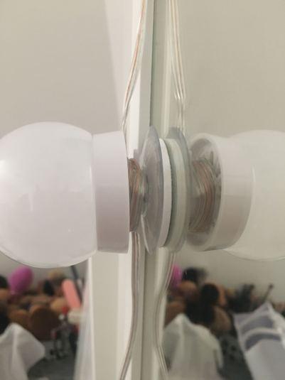 Ikea Hack LED Vanity Mirror