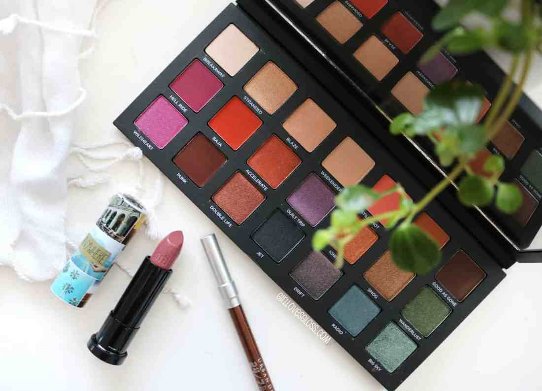Urban Decay Born to Run Collection Review