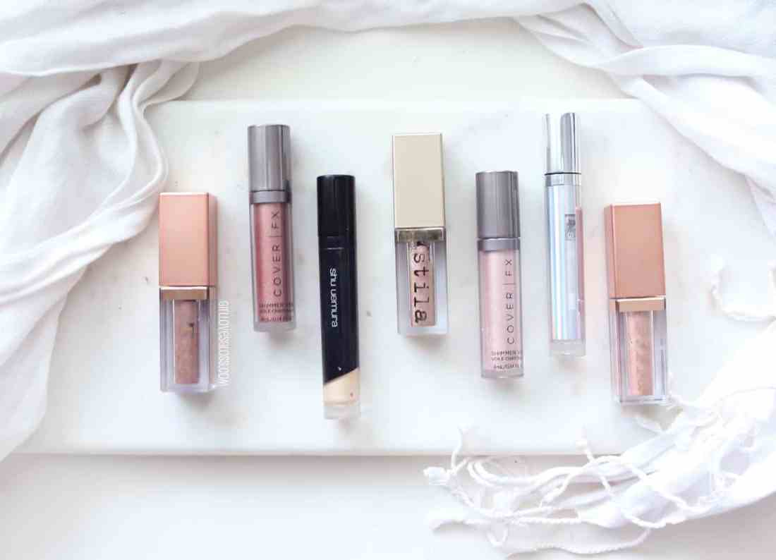 Liquid Eyeshadow Favourites from Stila, CoverFx and Shue UemuraLiquid Eyeshadow Favourites from Stila, CoverFx and Shue Uemura