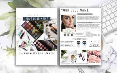 NAUTICA Blogger Influencer Media Kit Template