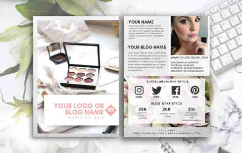 STONE Customized Blogger Media Kit