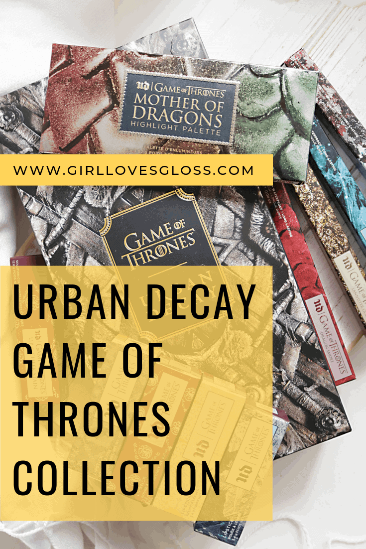 Urban Decay Game of Thrones Collection Review and Swatches