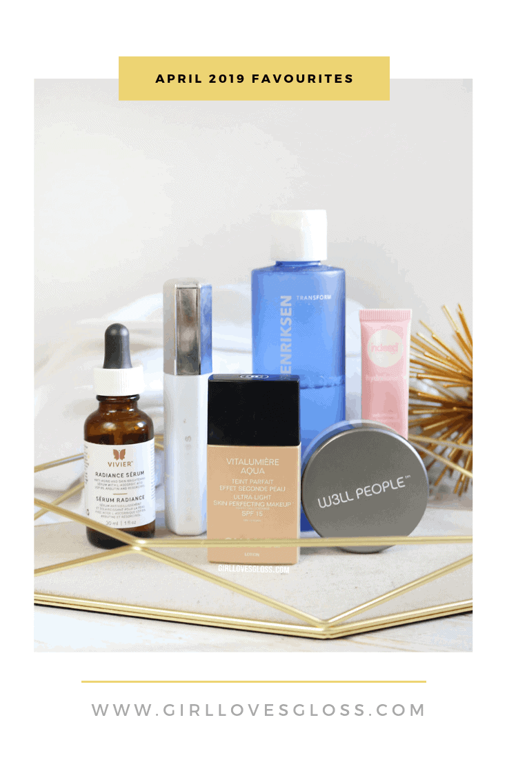 April 2019 Makeup and Beauty Favourites