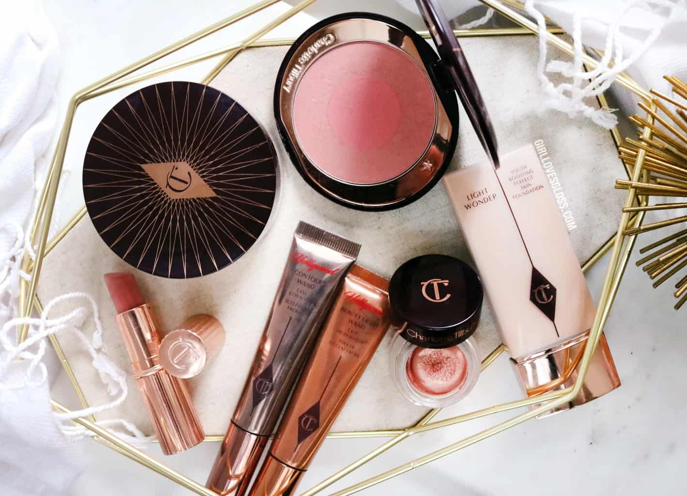 One Brand Look Featuring Charlotte Tilbury