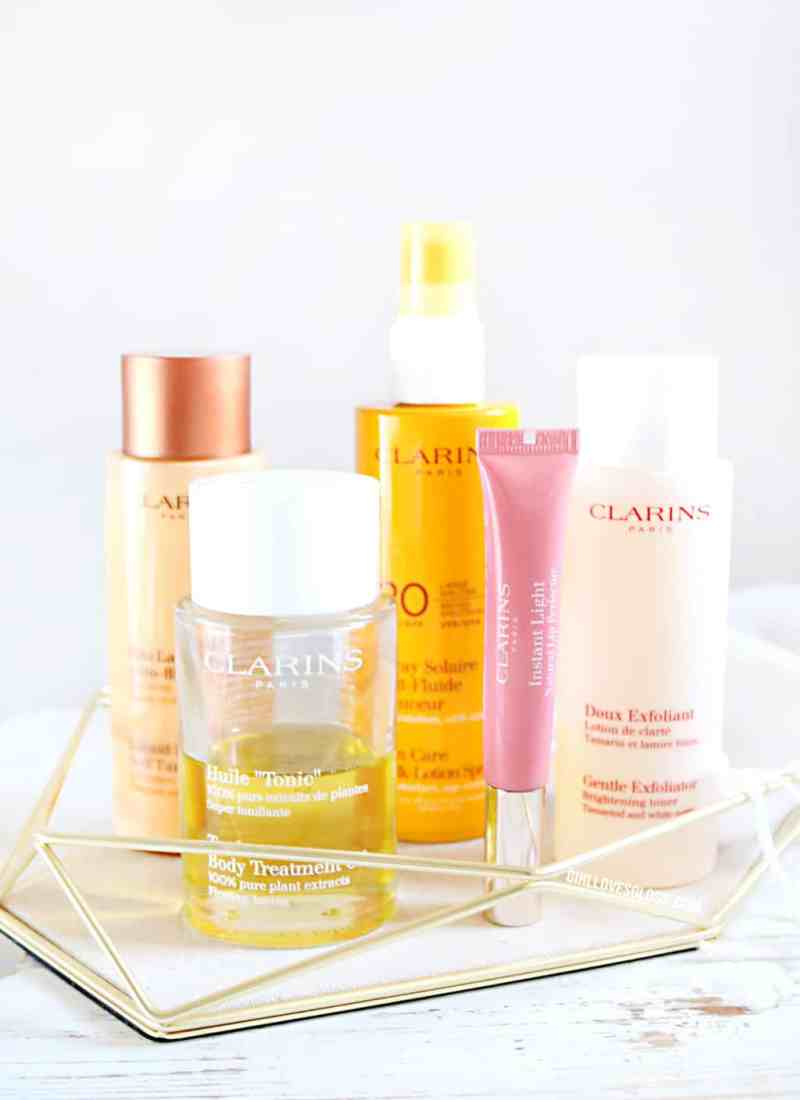 My Top 5 Clarins Products