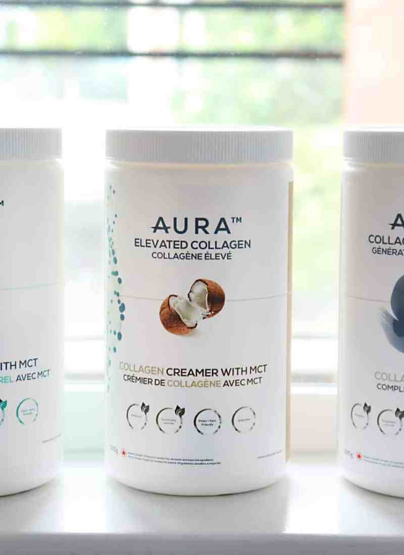 AURA Collagen MCT and Protein Powder Giveaway!