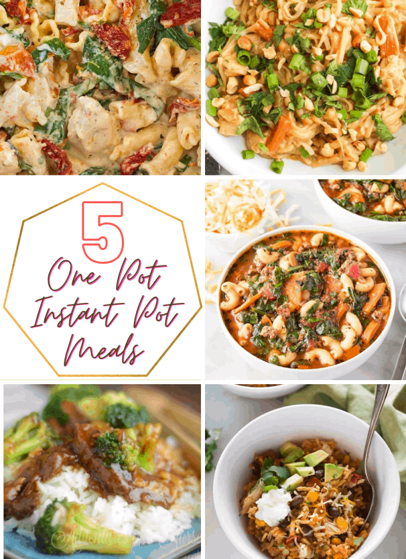 5 family friendly one pot meals Instant Pot