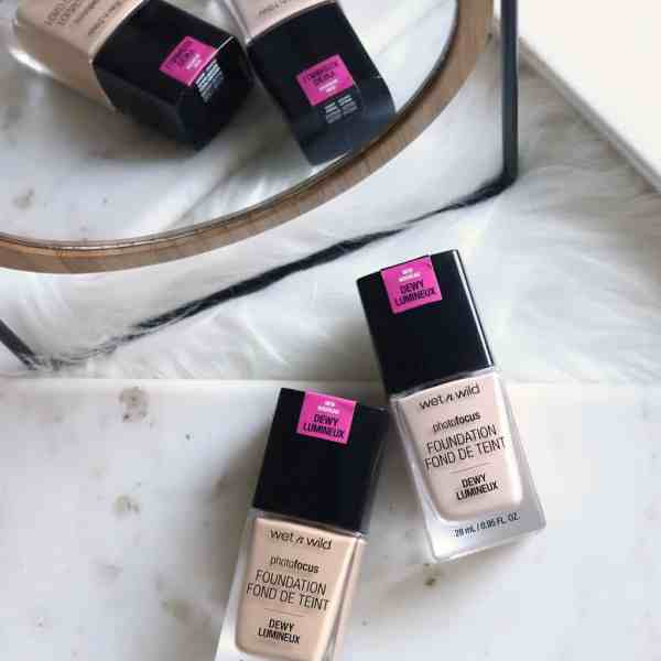 Drugstore Week | Wet n Wild Photofocus Dewy Foundation
